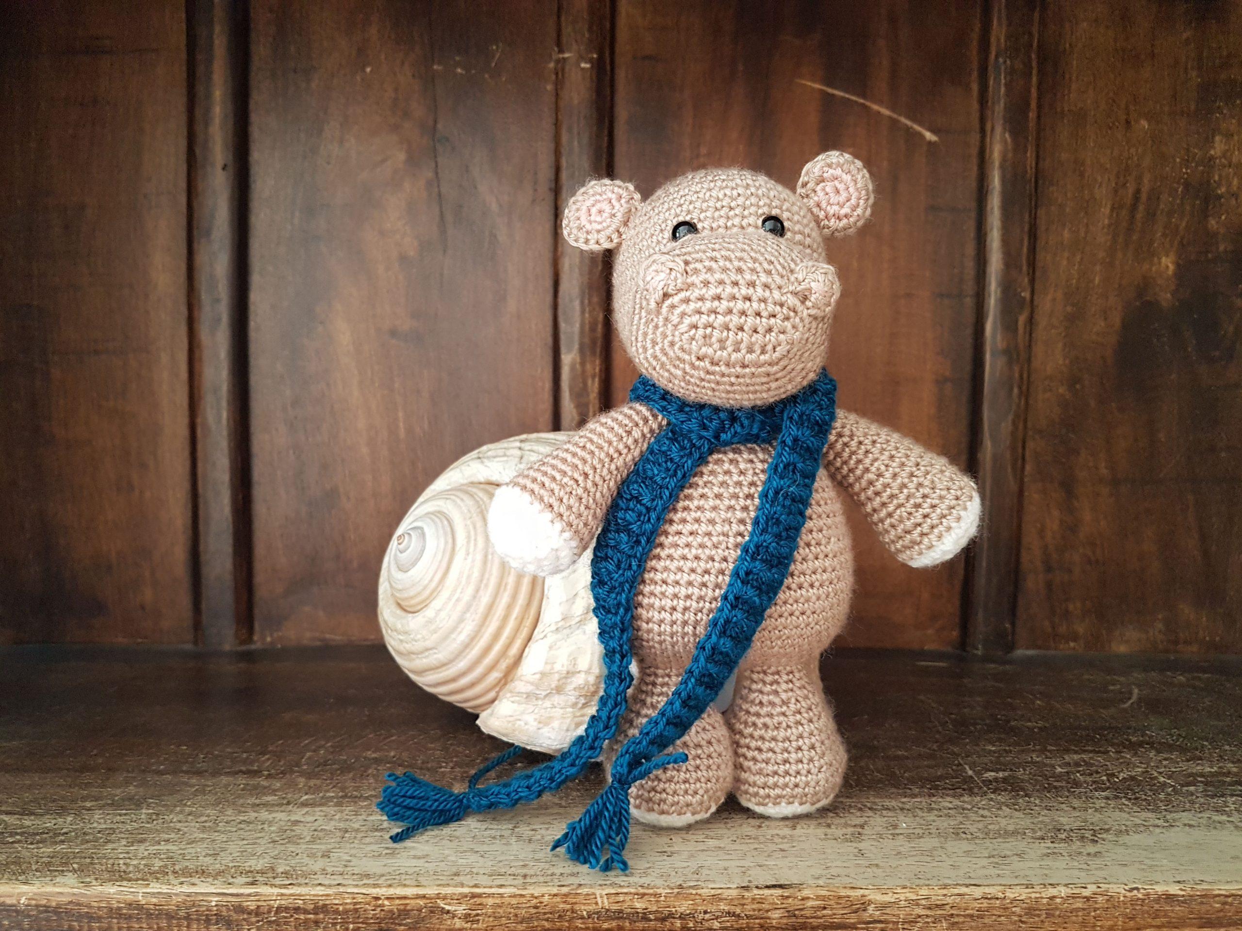 Amigurumi Pattern: Baby Kit - Hippo Melman - Tarturumies | 1920x2560