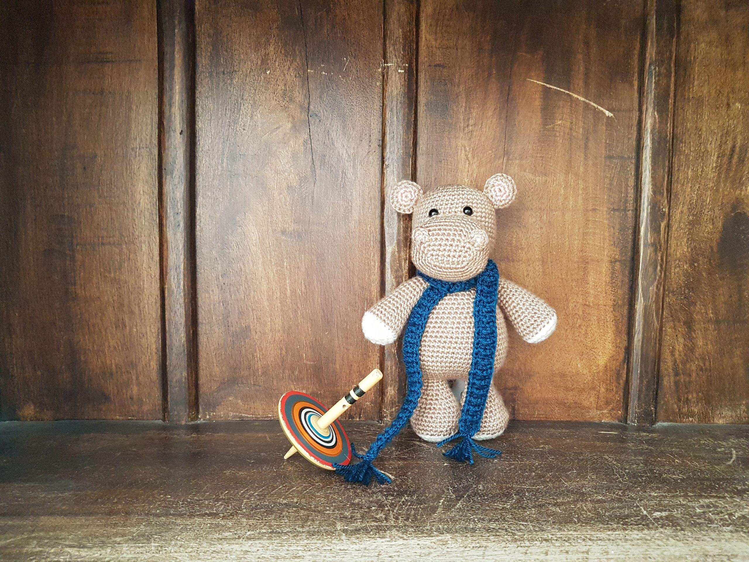 Melman - Amigurumi Hippo [Free Crochet Pattern] | 1920x2560